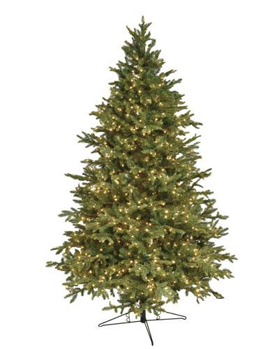 Alaskan Deluxe Warm White LED Christmas Tree  10'
