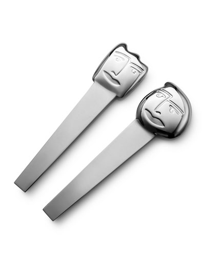 Small Face Off Salad Servers