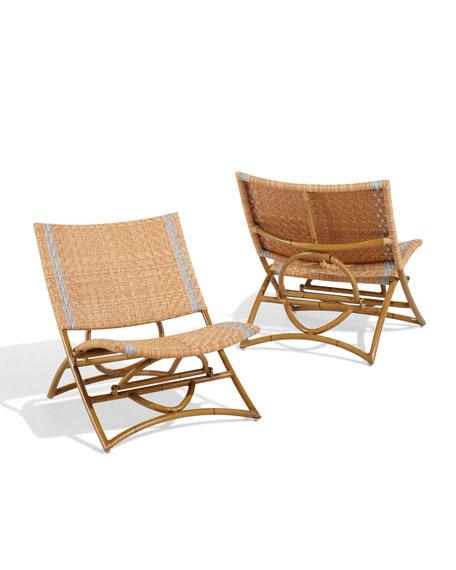 Ro Sham Beaux St. Kitts Beach Chairs, Set of 2