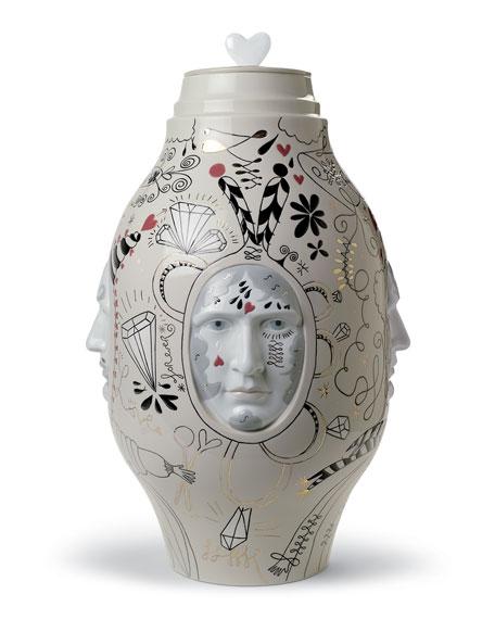 Lladro Medium Conversation Vase