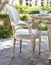 Cove Pebble Outdoor/Indoor Dining Arm Chair