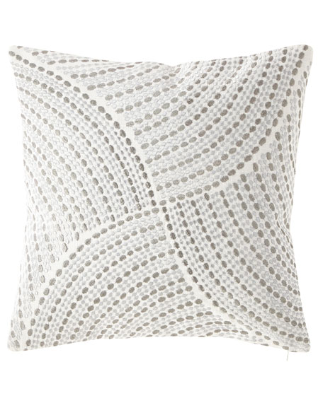 Austin Horn Classics Embroidered Decorative Pillow