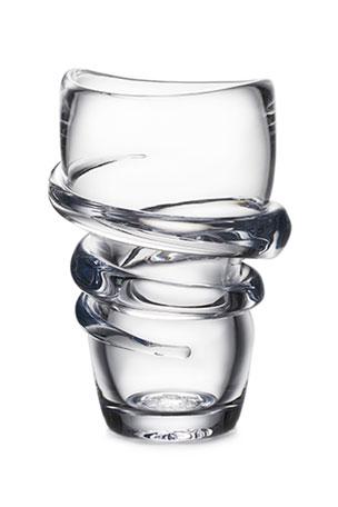 Simon Pearce Pure Helix Small Vase