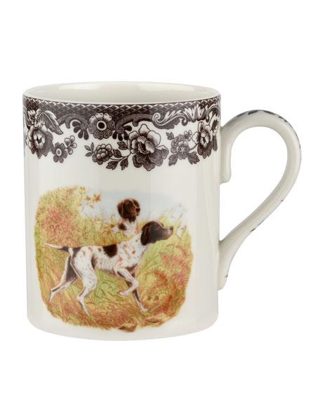 Spode Woodland Hunting Dogs Pointer Mug