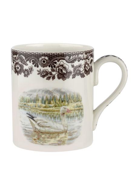 Spode Woodland Snow Goose Mug