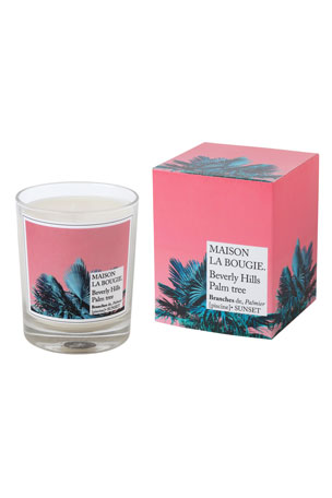 MAISON LA BOUGIE 6.7 oz. Beverly Hills Palm Tree Scented Candle