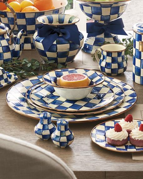 MacKenzie-Childs Royal Check Serving Platter