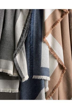 Matouk Suri Alpaca Eyelash-Fringe Throw Blanket