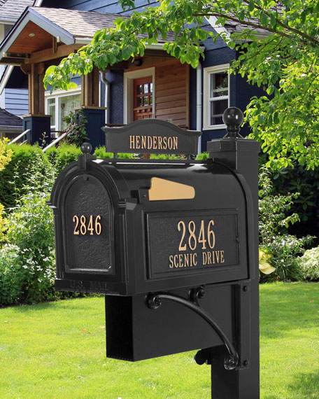 Ultimate Mailbox Package, Black
