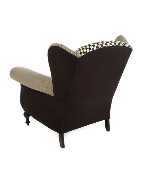 MacKenzie-Childs Underpinnings Studio Wing Chair
