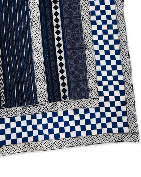 "MacKenzie-Childs Santorini Tablecloth, 58"" x 90"""