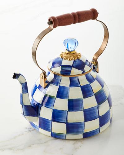 Royal Check Tea Kettle
