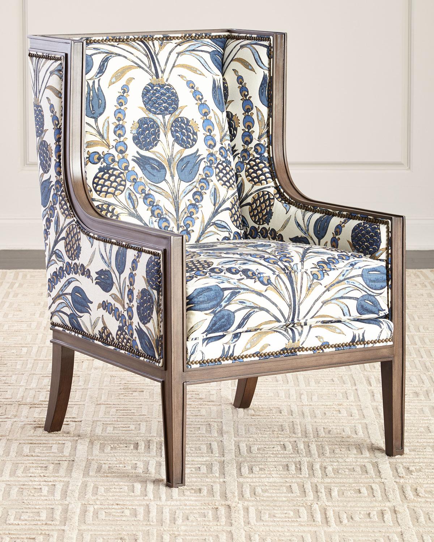 Strange Ember Linen Accent Chair Short Links Chair Design For Home Short Linksinfo