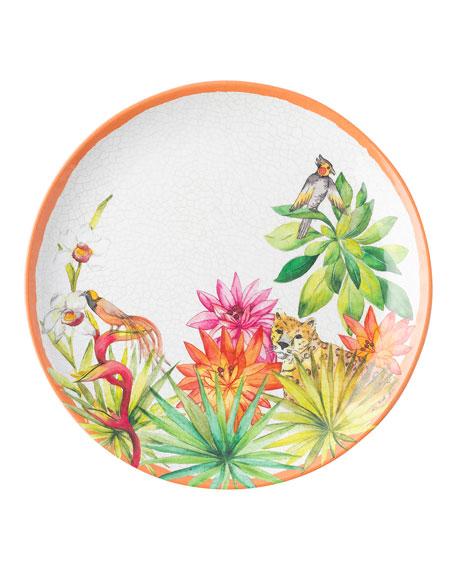 Juliska Flora and Fauna Dessert/Salad Plate
