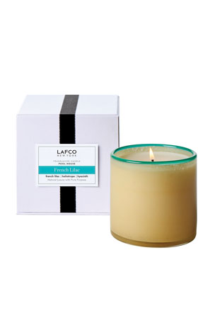 Lafco French Lilac Signature Candle, 15.5 oz./ 440 g