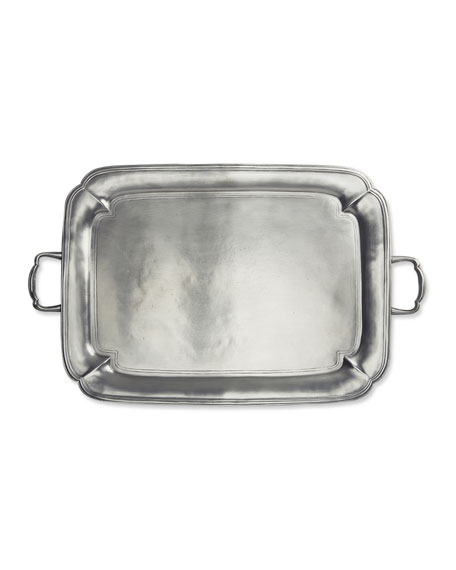 Match Large Parma Rectangle Tray with Handles