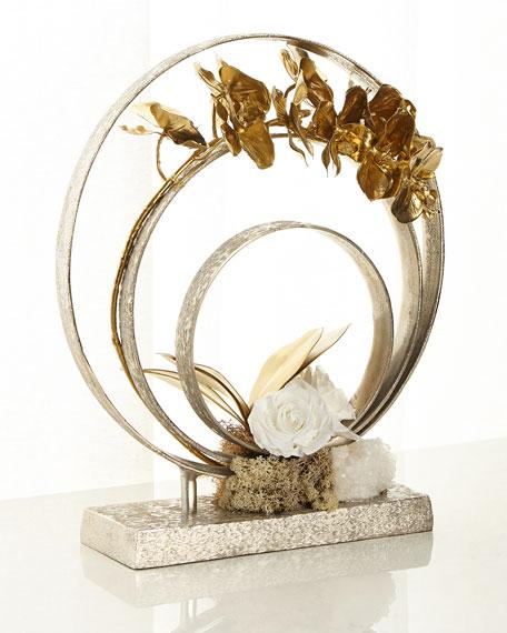 John-Richard Collection Silver Swirls Decor