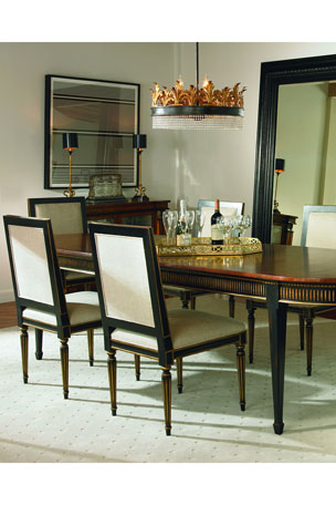 Century Furniture Barrington Oval Dining Table