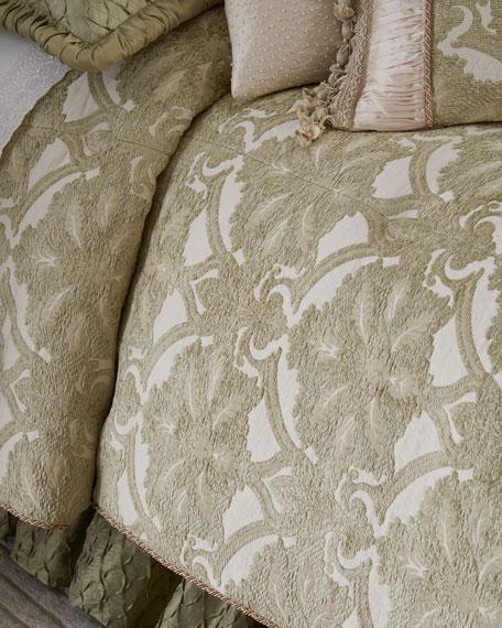 Austin Horn Collection Anastasia 3-Piece Queen Comforter Set
