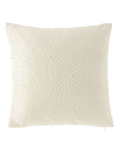 Austin Horn Collection Anastasia Embellished Pillow