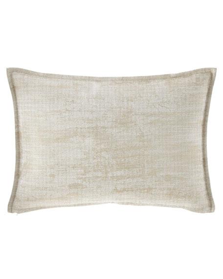 Fino Lino Linen & Lace Inessa Chaise Decorative Pillow