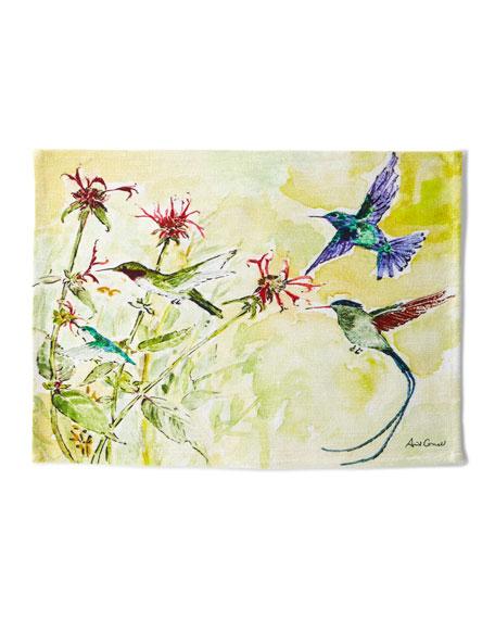 April Cornell Hummingbird Placemats, Set of 4