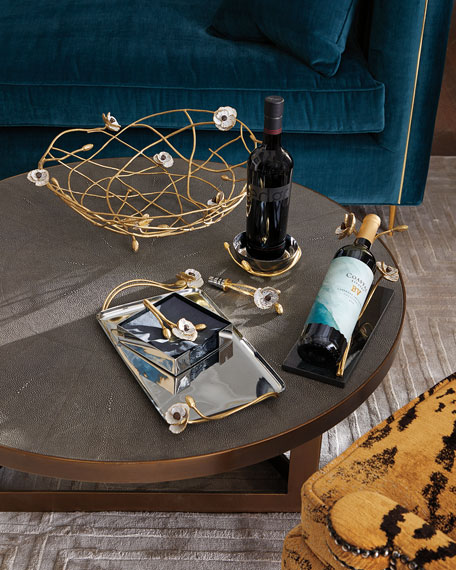 Michael Aram Anemone Wine Rest