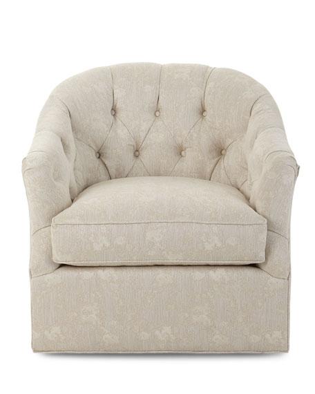Brooklyn Tufted Swivel Chair