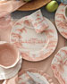 Juliska Country Estate Petal Pink Dinner Plate