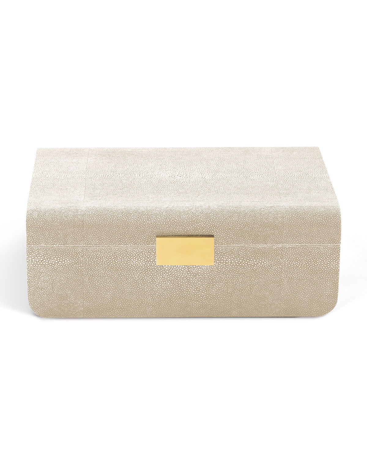 AERIN Modern Shagreen Large Jewelry Box