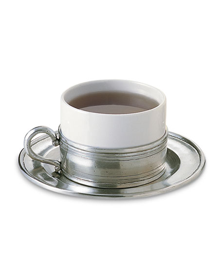 Match Cappuccino Cup with Saucer