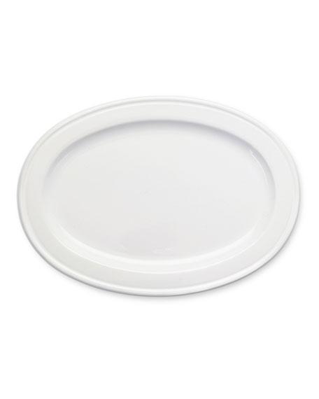 Match Medium Convivio Ceramic Oval Tray
