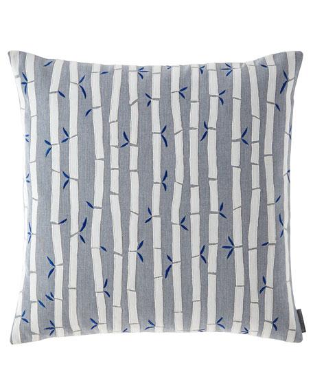 Lili Alessandra Oriental Bamboo Pillow