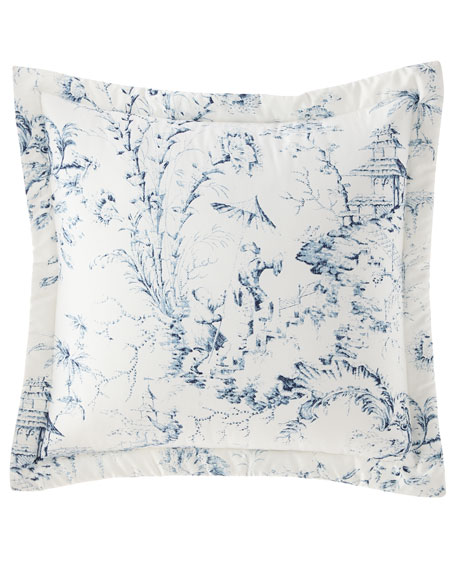 Sherry Kline Home Imperial Toile Main European Sham