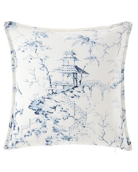 Sherry Kline Home Imperial Toile Main Pillow