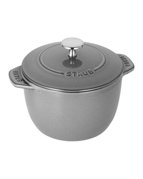 Staub 1.5-Qt. Petite French Oven, Graphite Grey
