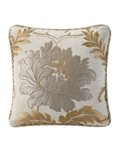 Waterford Ansonia Jacquard Decorative Pillow