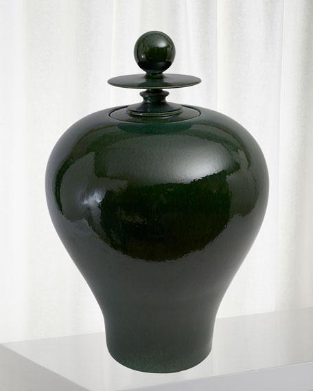 Global Views Happy Temple Jar