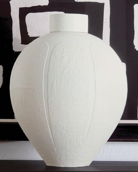 Global Views Linen Jar