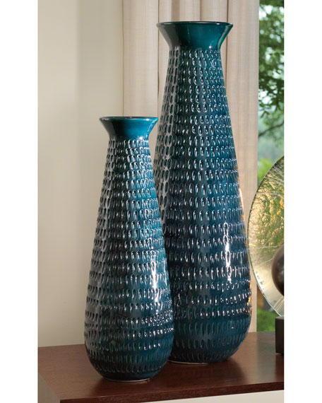 Image 2 of 3: Global Views Large Pine Cone Vase