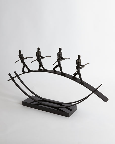 Image 2 of 5: Global Views Balance Sculpture
