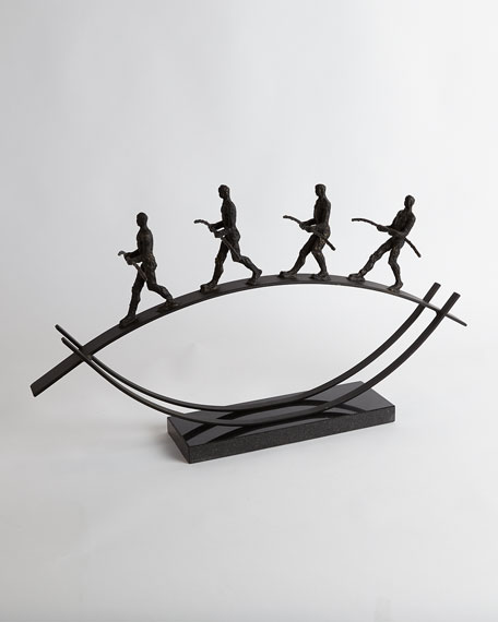Image 4 of 5: Global Views Balance Sculpture