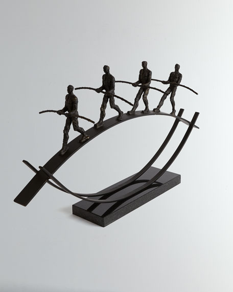 Image 1 of 5: Global Views Balance Sculpture