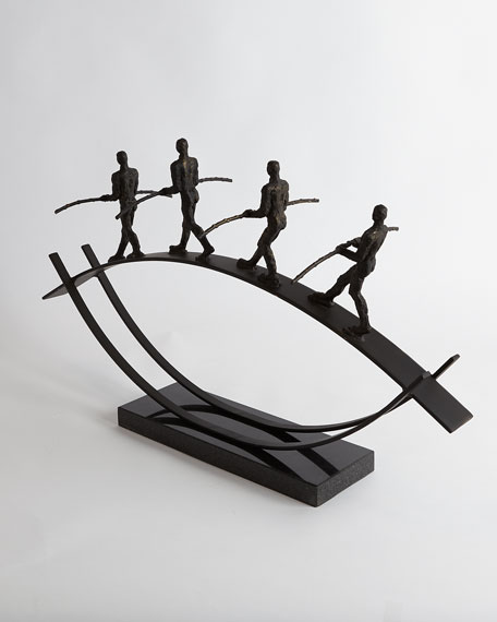 Image 5 of 5: Global Views Balance Sculpture