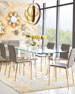 Interlude Home Oris Acrylic Dining Table