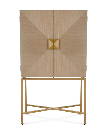 Interlude Home Gaspard Bar Cabinet