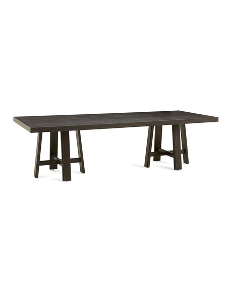 Bernhardt Colworth Double Pedestal Dining Table