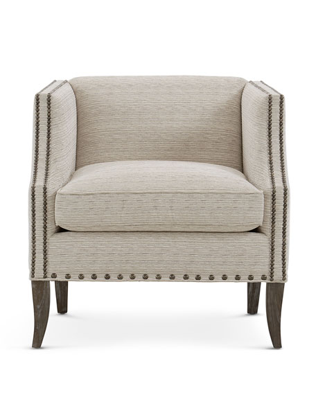 Image 2 of 3: Bernhardt Romney Accent Chair