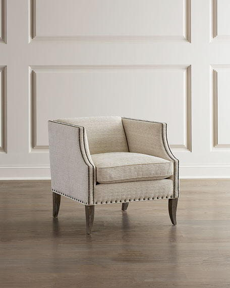 Image 1 of 3: Bernhardt Romney Accent Chair