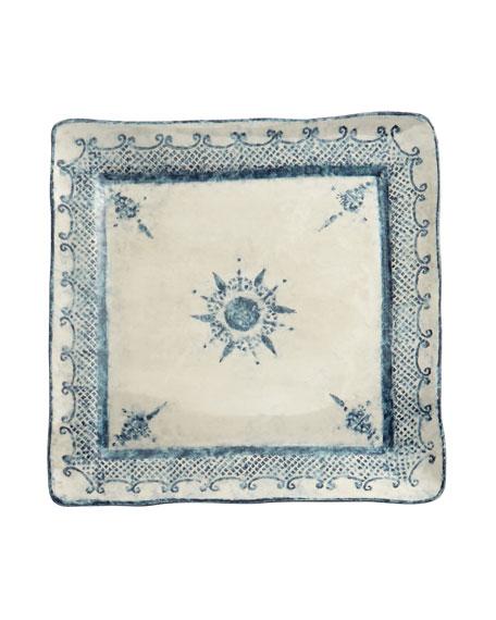 Arte Italica Burano Large Square Platter
